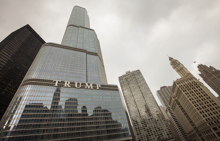 Неизвестный объявил о«бомбе» внебоскрёбе Трампа вЧикаго