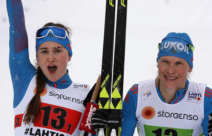 Наталья Матвеева (справа)