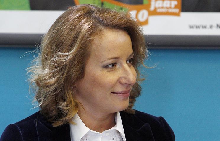 Пресс-секретарь премьер-министра РФ Наталья Тимакова