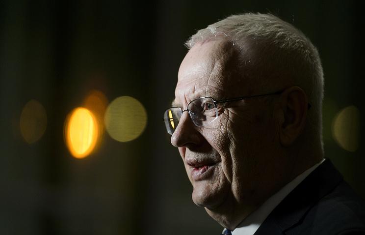 Глава Европейской легкоатлетической ассоциации Свейн Арне Хансен