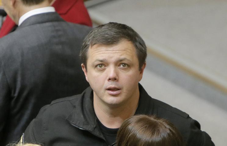 Депутат Верховной рады Украины Семен Семенченко
