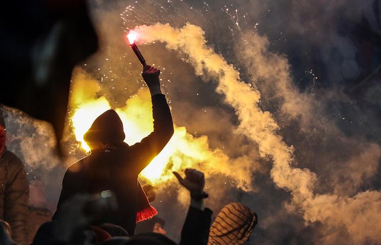 Столичная милиция пресекла массовую драку между фанатами ЦСКА и«Зенита»