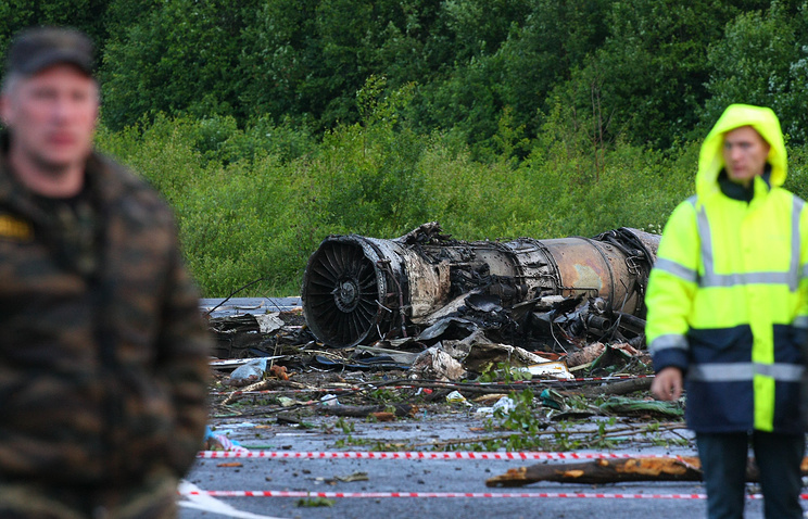 Судья: вдень крушения Ту-134 аэропорт Петрозаводск должны были закрыть