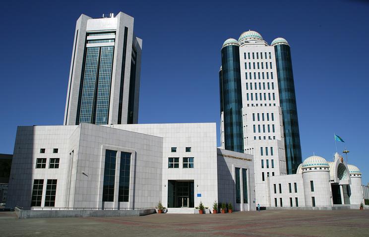 Здание парламента Республики Казахстан