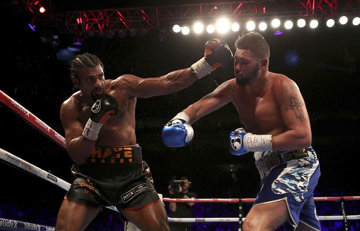 Боксер Хэй перенес операцию после поражения отБелью— Daily Mail