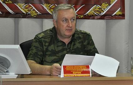 Бывший заместитель главнокомандующего Внутренних войск МВД РФ Вячеслав Варчук