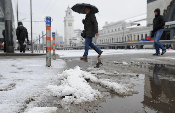 Небольшое потепление доплюс 6 градусов ожидается вмосковском регионе вовторник