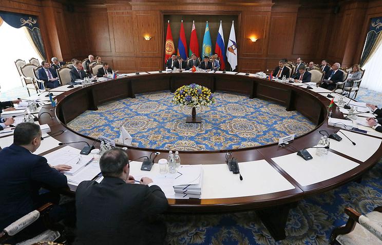 Во время заседания Евразийского межправительственного совета
