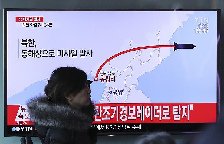 Токио заявил, что ракеты КНДР упали на самом близком расстоянии от Японии