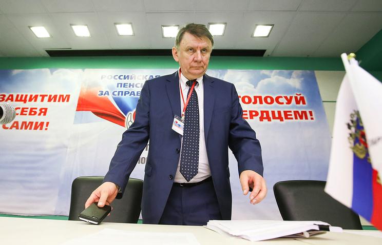 Председатель центрального совета РППС Владимир Бураков