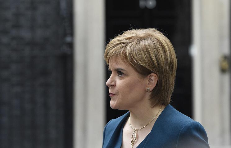1-ый министр Шотландии назвала сроки для проведения референдума онезависимости региона