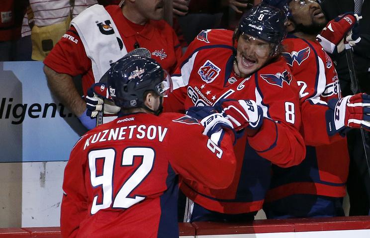 Овечкин прервал рекордную серию без голов, отличившись вматче НХЛ против «Миннесоты»