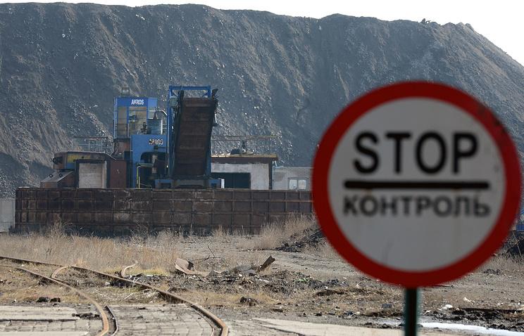 ЕС ждет объяснений от столицы Украины всвязи срешением поблокаде Донбасса