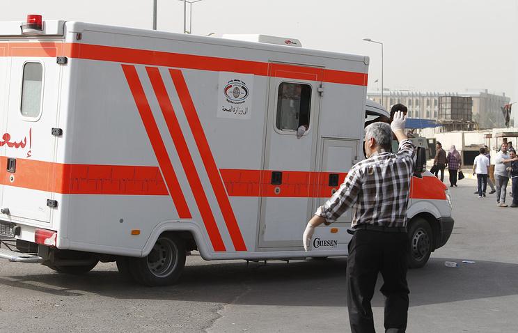 При взрыве вБагдаде погибли поменьшей мере  20 человек