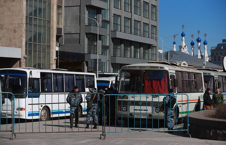 Участникам несанкционированной акции в столице России грозят штрафы иаресты— юристы