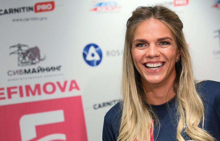 Ефимова показала лучшее время сезона на200 брассом