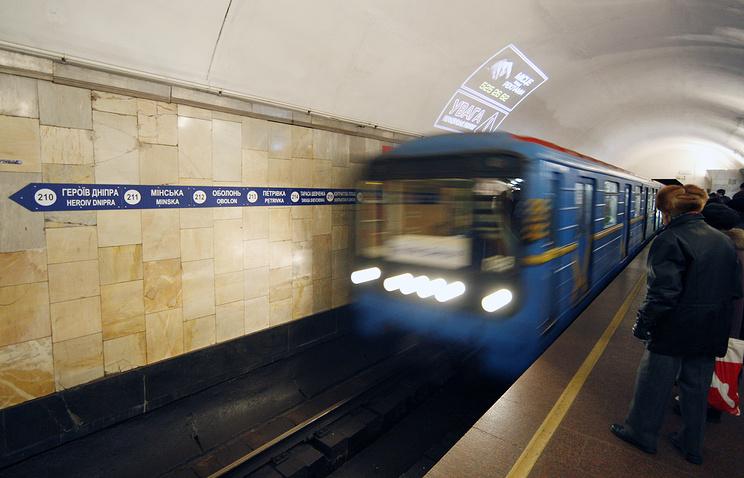 Власти украинской столицы сообщили о вероятной остановке метро из-за нехватки денежных средств
