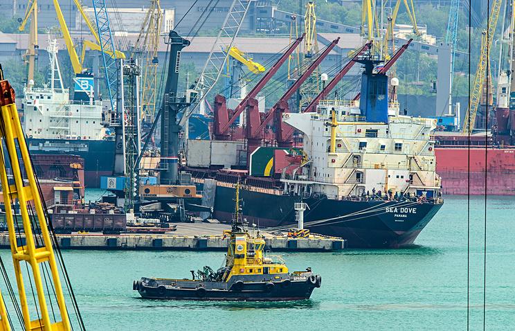 Порты Каспийского бассейна сократили перевалку на47%