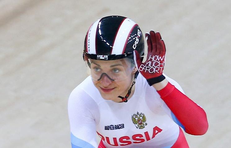 Русская велогонщица выиграла вгите начемпионате мира