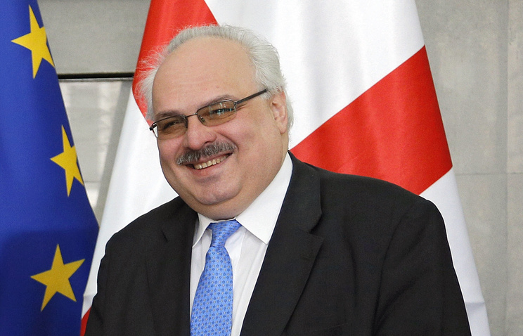 Заместитель главы МИД Грузии Давид Джалагания