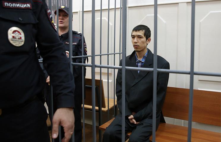 Аброр Азимов в Басманном суде