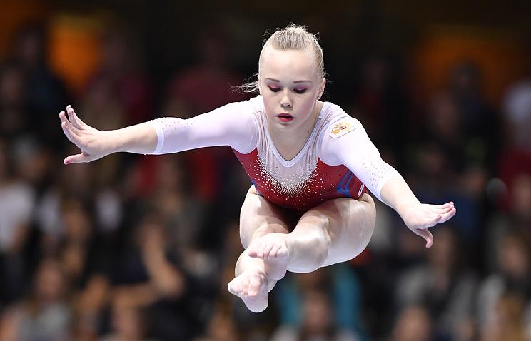 Гимнастка Мельникова стала чемпионкой Европы ввольных упражнениях