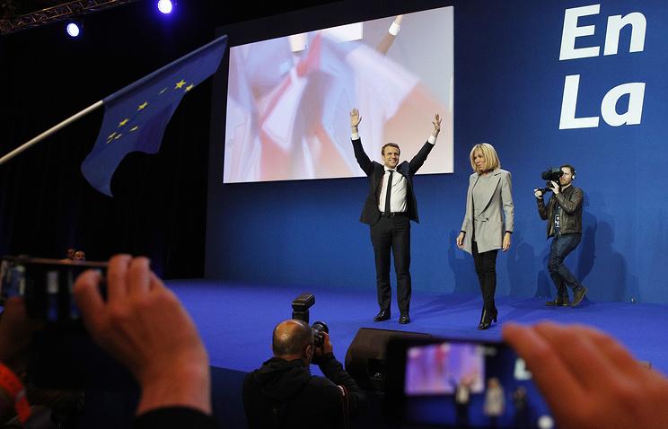 Макрон объявил опобеде впервом туре президентских выборов воФранции