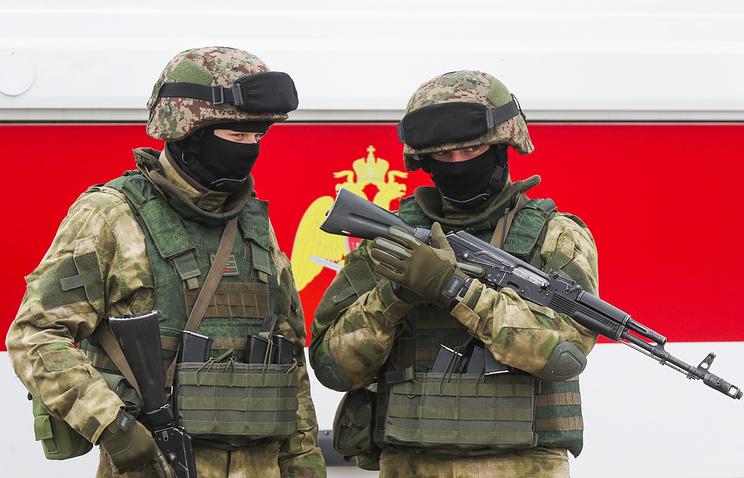 Росгвардия опровергла участие ввоенной операции вСирии