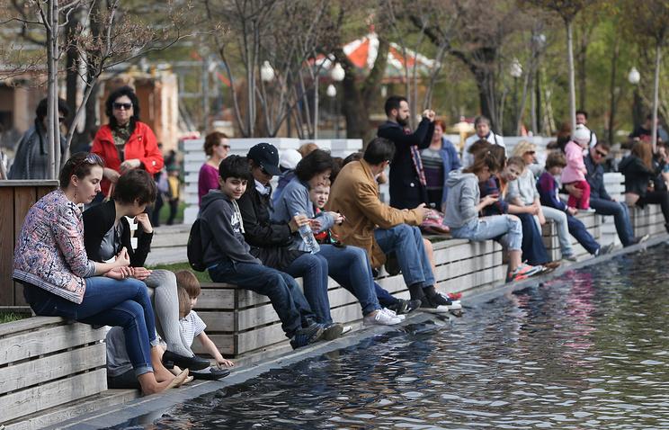Потепление до +18 градусов придет в столицу наследующей недели