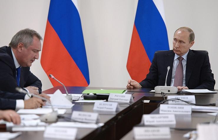 Путин навстрече сДжентилони обозначил рост товарооборота сИталией