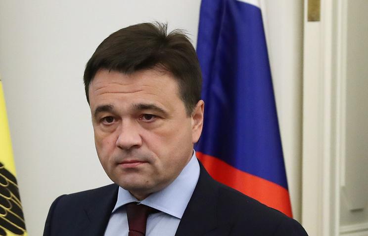 Губернатор Московской области Андрей Воробьев