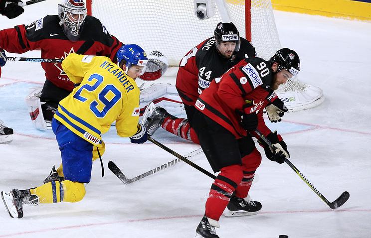 Нападающий сборной Швеции Нюландер признан самым ценным игрокомЧМ