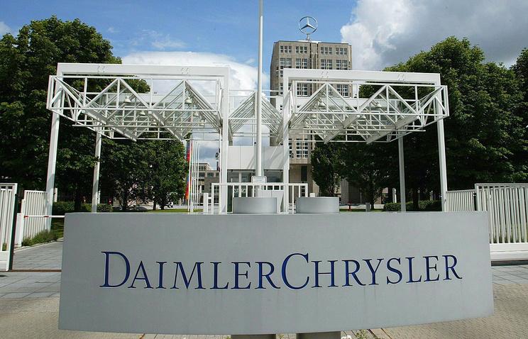 Впомещениях компании Daimler вГермании прошли обыски
