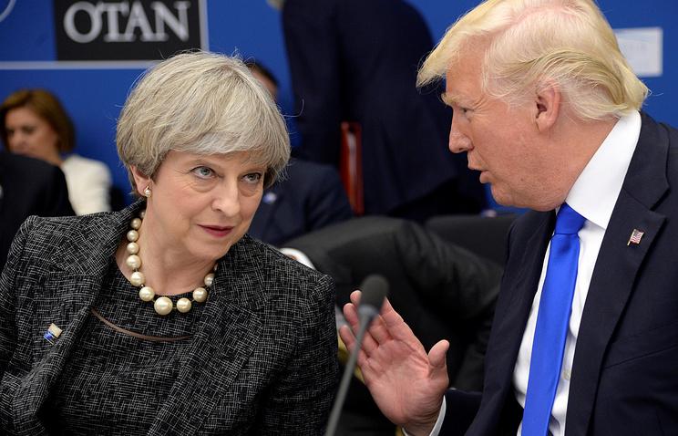 Премьер Великобритании обсудила сТрампом утечку данных отеракте вМанчестере