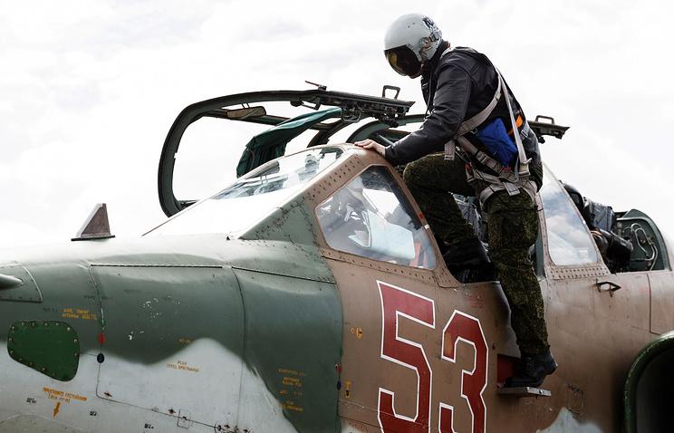 Русские ВКС устранили неменее 120 террористов, направлявшихся вПальмиру