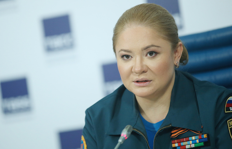 Директор центра экстренной психологической помощи МЧС РФ Юлия Шойгу