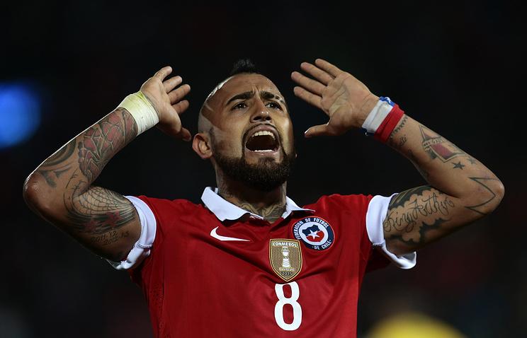Футболисты сборной Чили разгромили команду Буркина-Фасо втоварищеском матче