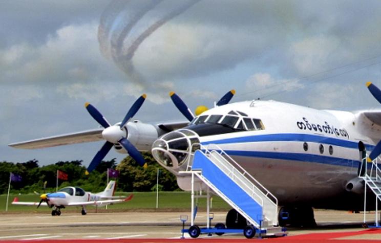 Многоцелевой транспортный самолет Shaanxi Y-8
