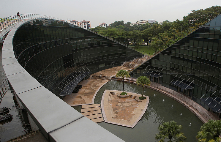 Кампус Наньянского технологического университета в Сингапуре