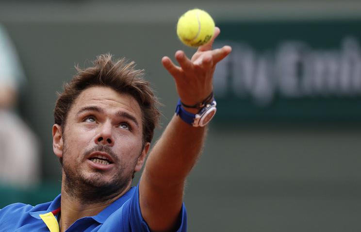 Вавринка обыграл Маррея вполуфинале Roland Garros
