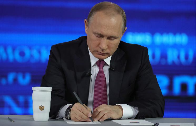 Санкции пошли РФ напользу— Владимир Путин