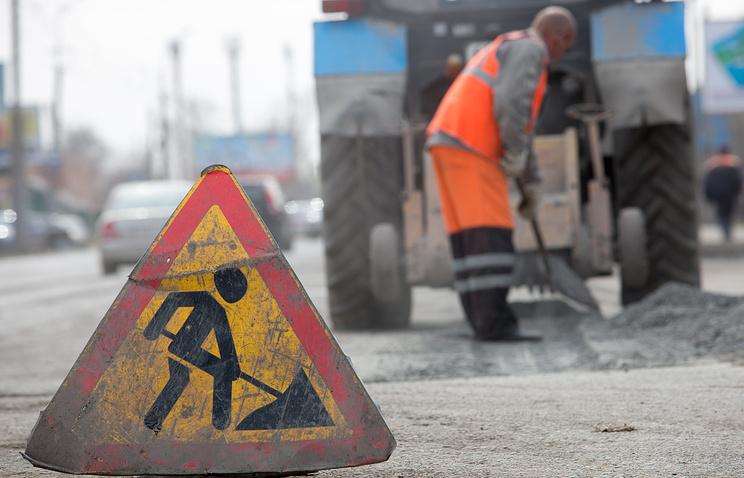 ВКраснодаре уже ремонтируют дорогу, накоторую пожаловался Путину один из городских жителей