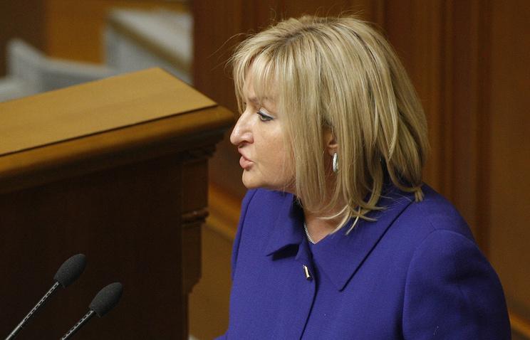 Представитель президента Украины в Раде Ирина Луценко
