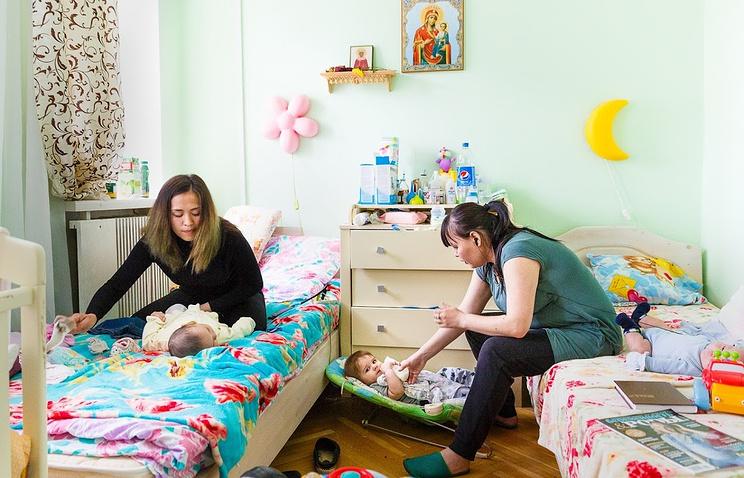 """""""Дом для мамы"""" — первый православный кризисный центр службы помощи """"Милосердие"""" — открылся в 2012 году"""