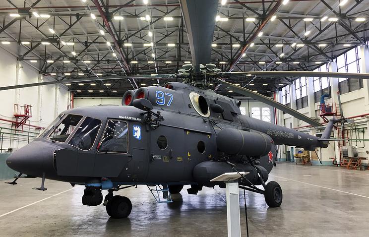 «Вертолеты России» преждевременно передали ВКСРФ два вертолета для Арктики