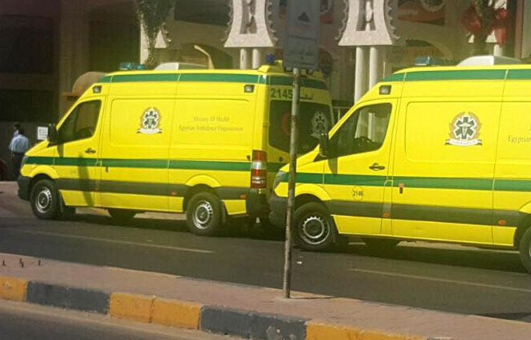 Автомобили скорой помощи, Хургада