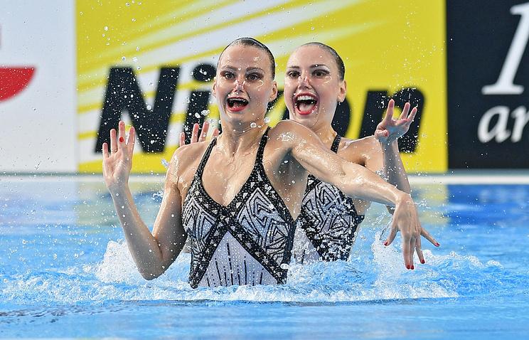 Светлана Колесниченко и Александра Пацкевич