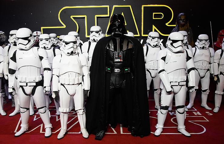 Компания Disney представила 3D модель звезд Star Wars
