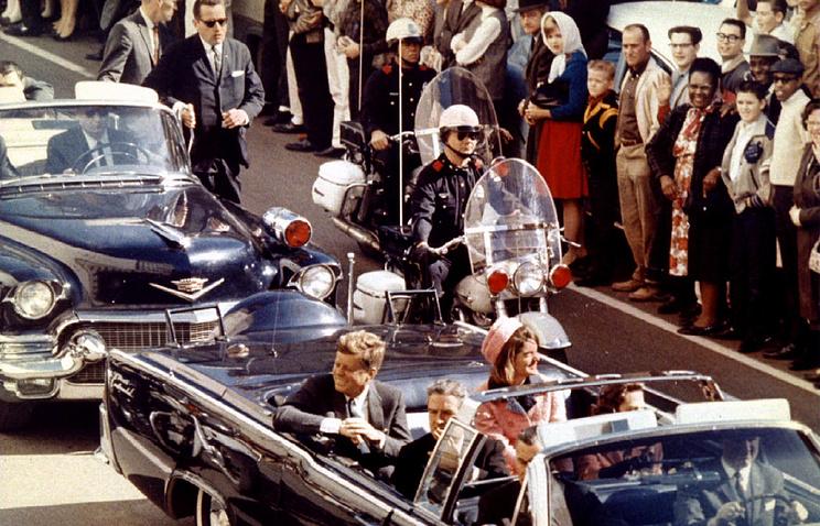 Президент США Джон Кеннеди 22 ноября 1963 года