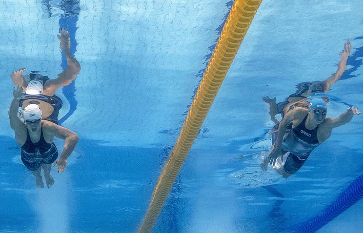 Россиянки выиграли «серебро» ЧМвкомбинированной эстафете 4х100 м